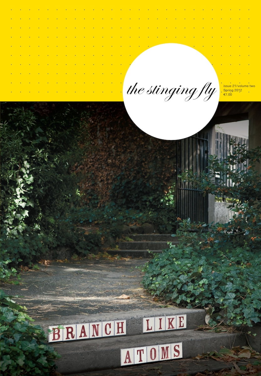 Stinging Fly Spring 2012 Cover