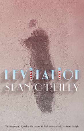 Front cover of Sean O'Reilly's collection, 'Levitation'