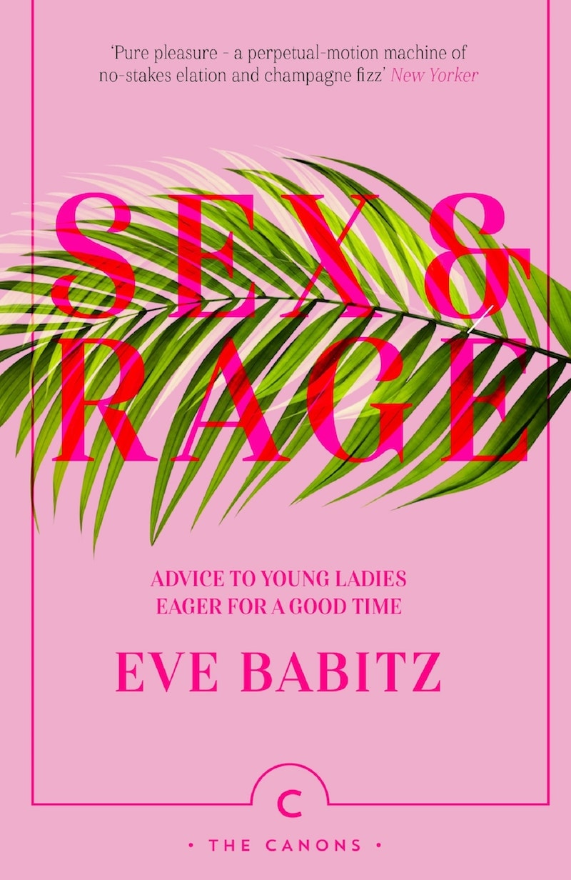 The cover of Sex And Rage, by Eve Babitz
