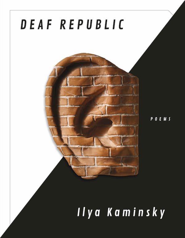 Ilya Kaminsky – Deaf Republic book cover