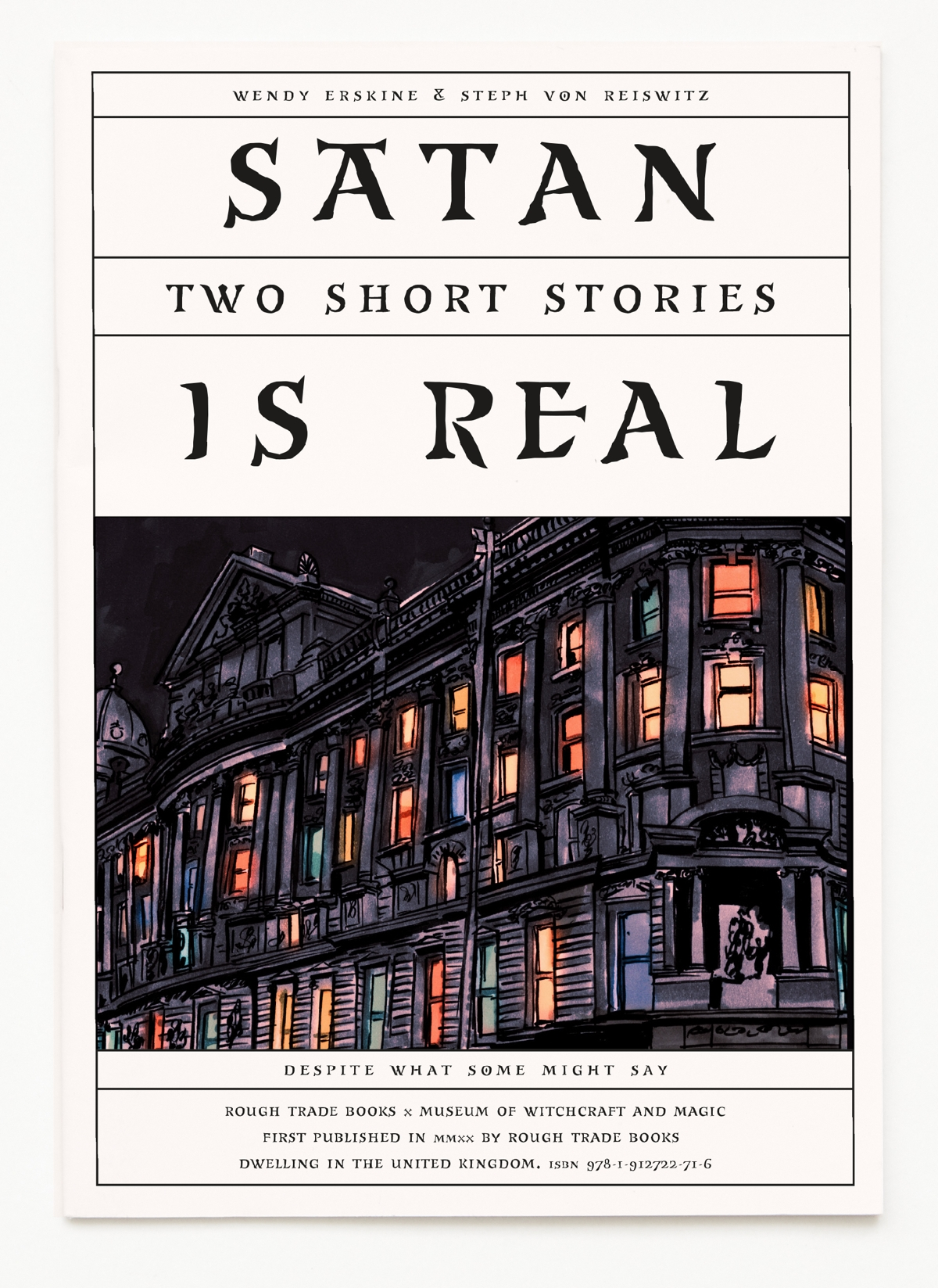 cover of Satan Is Real by Wendy Erskine and Steph Von Reiswitz